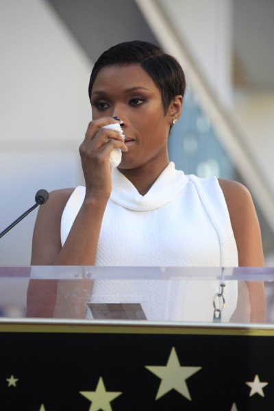 Jennifer Hudson a reçu son étoile sur le Walk of Fame à Hollywood, le 13 novembre 2013.
