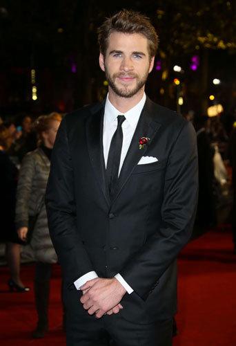 Liam Hemsworth à Londres, le 5 novembre 2015