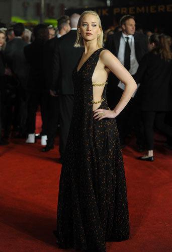 Photos : Jennifer Lawrence, à tomber pour l'avant-première de Hunger Games à Londres !