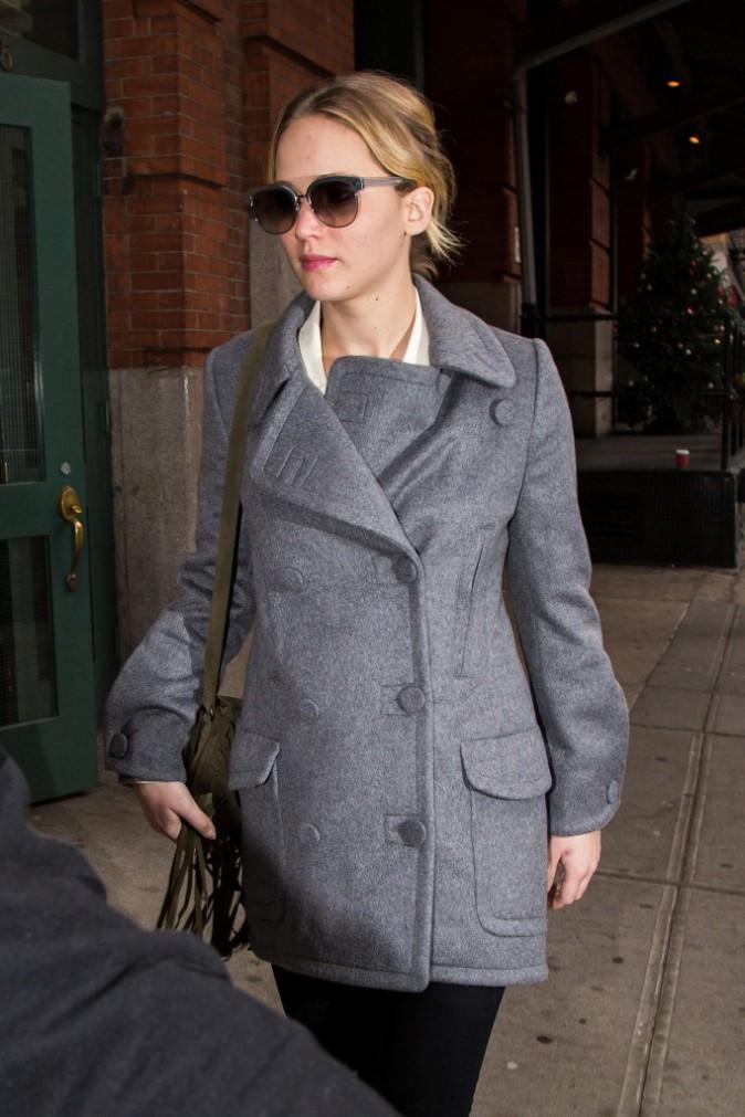 Jennifer Lawrence à New York le 16 décembre 2014