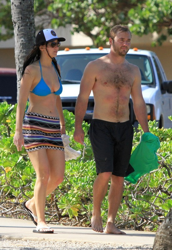 Jennifer Lawrence le 21 novembre 2012 à Hawaii