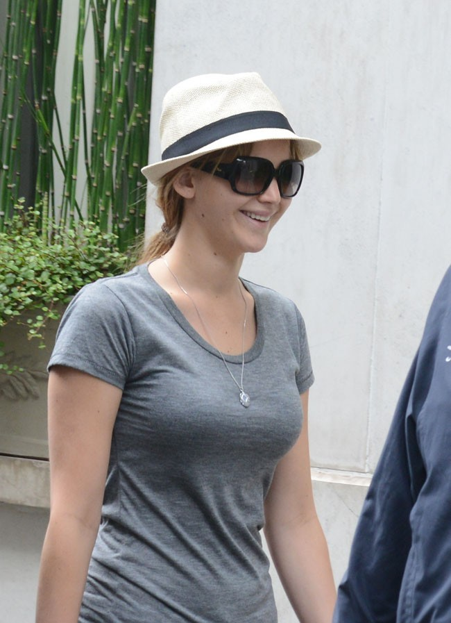 Jennifer Lawrence le 3 juillet 2012 à Paris