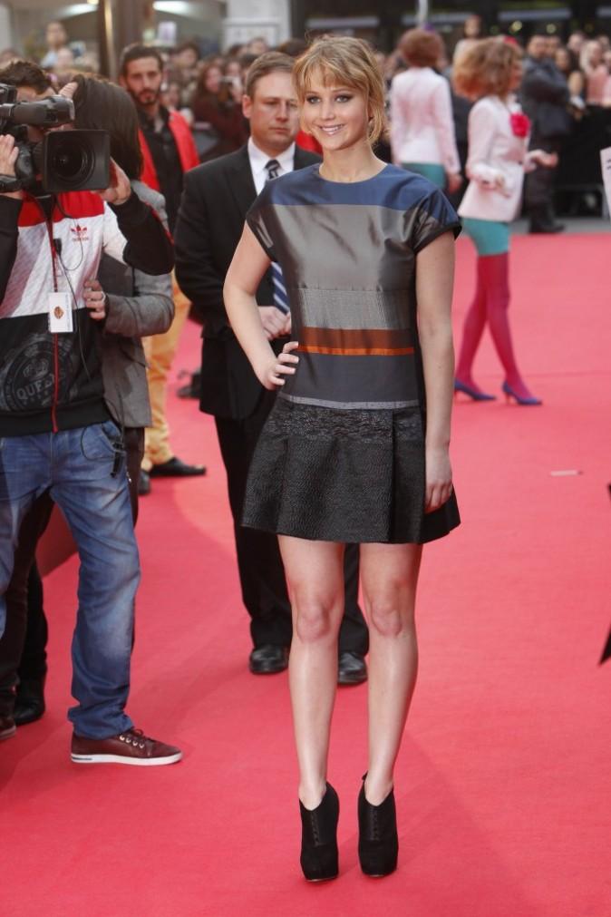 Jennifer Lawrence, nouvelle déesse du tapis rouge !