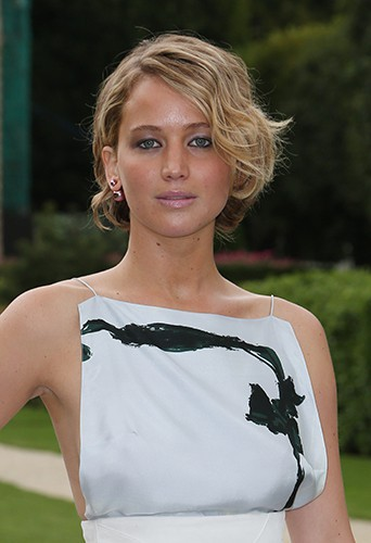Jennifer Lawrence à Paris le 7 juillet 2014