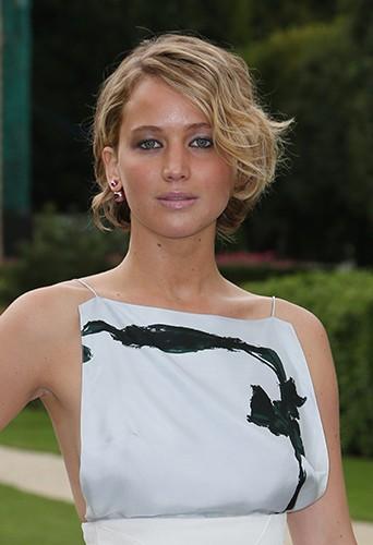 Jennifer Lawrence à Paris le 7 juillet 2014