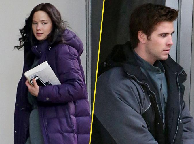 Jennifer Lawrence et Liam Hemsworth : endeuillés par la mort de Philip Seymour Hoffman, ils ont repris le tournage d'Hunger Games !