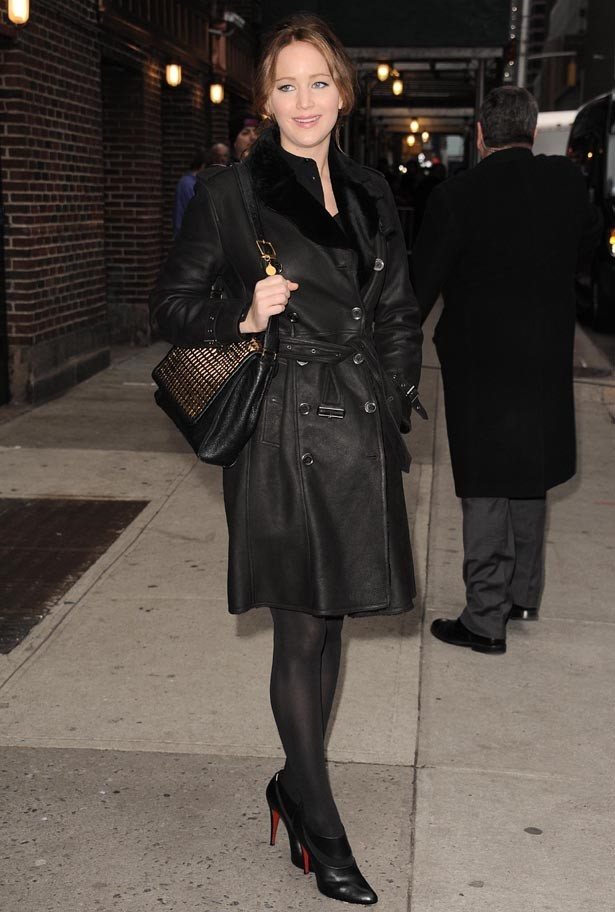 Jennifer Lawrence à New-York le 15 janvier 2013