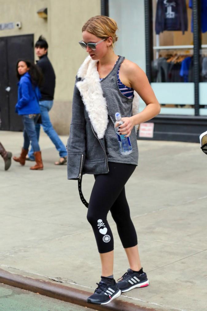 Jennifer Lawrence à New York le 16 novembre 2014