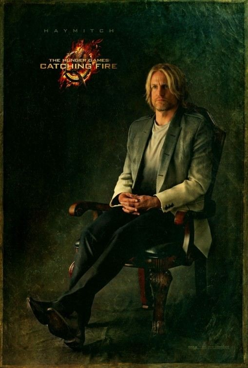 Woody Harrelson sur l'affiche d'Hunger Games 2- L'embrasement
