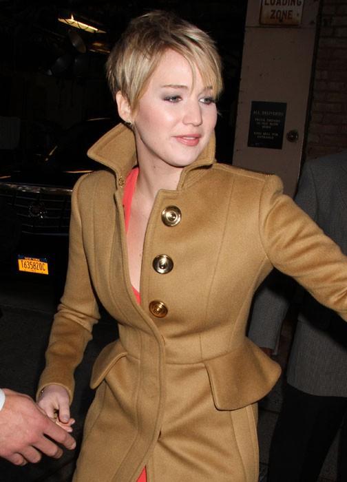 Jennifer Lawrence poursuit la promo de Catching Fire, à New York