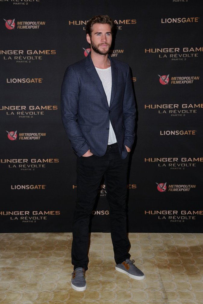 Liam Hemsworth le 9 novembre 2015