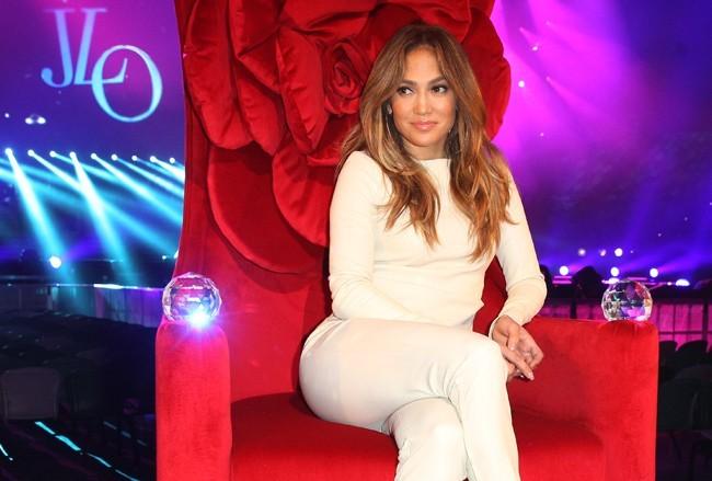 Jennifer Lopez en conférence de presse à Melbourne le 11 décembre 2012