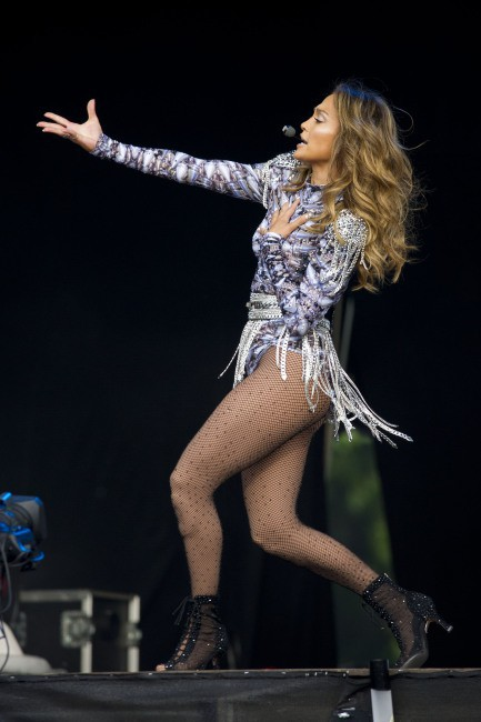 Jennifer Lopez lors du British Summer Time à Londres, le 14 juillet 2013.