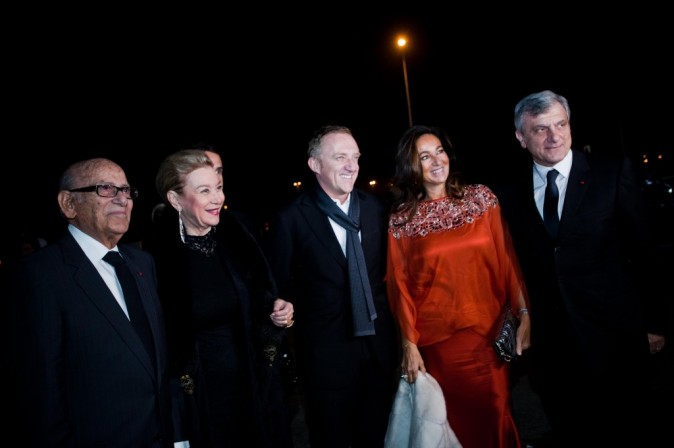 François-Henri Pinault et Sidney Toledano lors de l'inauguration du Morocco Mall à Casablanca, le 1er décembre 2011.