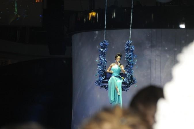 Sofia Essaïdi lors de l'inauguration du Morocco Mall à Casablanca, le 1er décembre 2011.