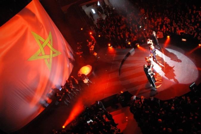 Soirée d'inauguration du Morocco Mall à Casablanca, le 1er décembre 2011.
