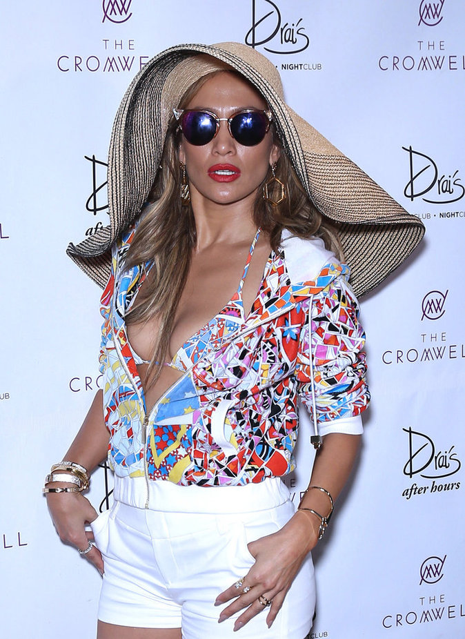 Jennifer Lopez fait la fête à Las Vegas ce dimanche 29 mai