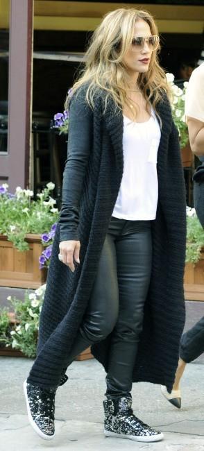 Jennifer Lopez en plein shopping à New York, le 12 septembre 2012.
