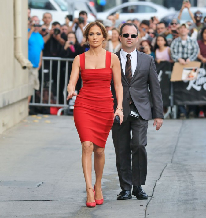 Jennifer Lopez à Hollywood le 10 mars 2015