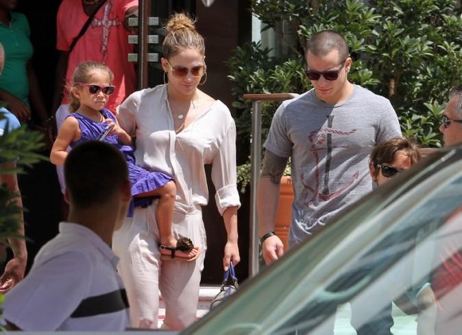 Jennifer Lopez à Miami le 2 septembre 2012