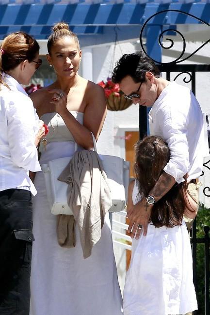Jennifer Lopez et Marc Anthony le 19 juin 2013 à Los Angeles