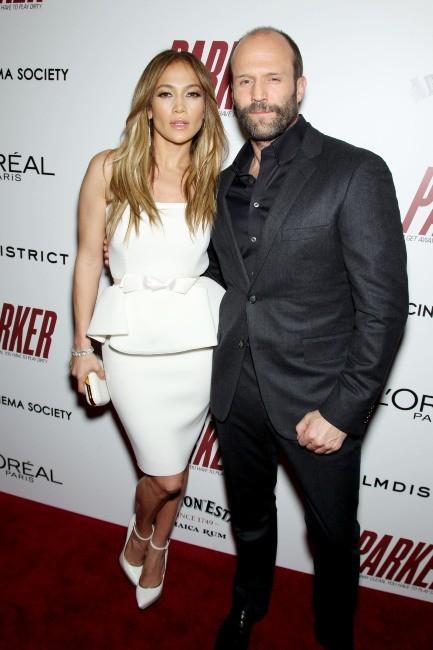 Jennifer Lopez et Jason Statham le 23 janvier 2013 à New York