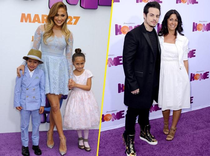 Jennifer Lopez : en famille pour Home, elle exclut Casper Smart du tableau !