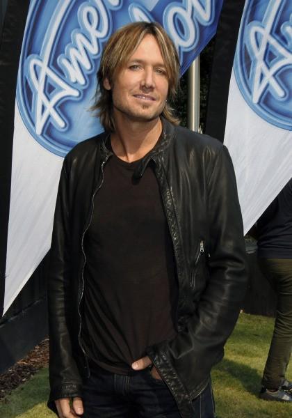 Keith Urban lors des auditions d'American Idol à Atlanta, le 30 octobre 2013.