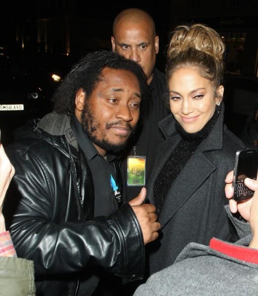 Jennifer Lopez à Londres, le 22 octobre 2012.