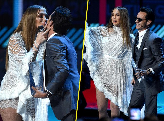 Jennifer Lopez et Marc Anthony : enfin le bisous !