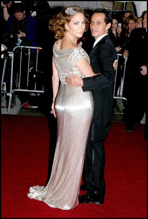 Jennifer Lopez et Marc Anthony lors du MET Ball Gala à New York, le 7 mai 2007.