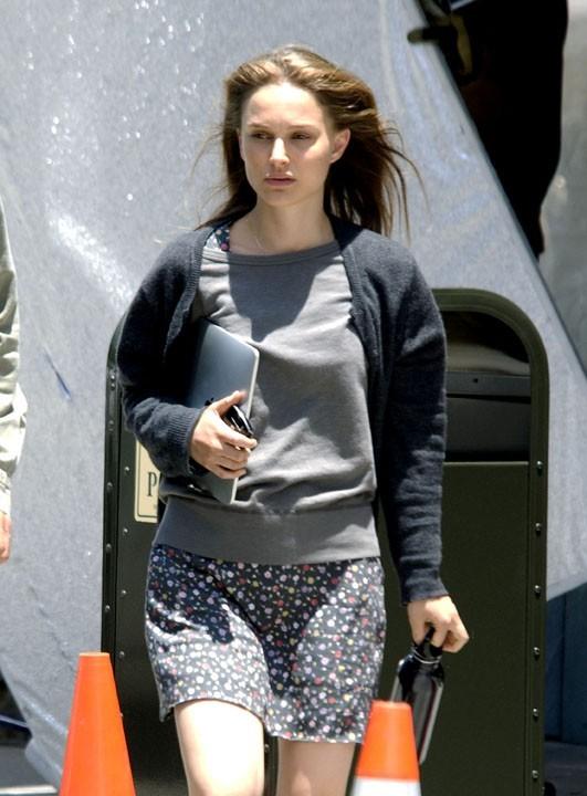 Natalie Portman, fan de la pomme sur les tournages