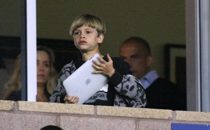 Romeo Beckham, précoce !
