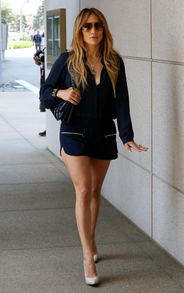 Jennifer Lopez à Los Angeles le 11 août 2014