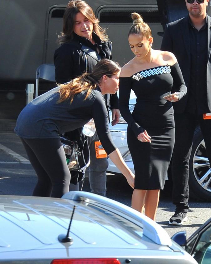 Jennifer Lopez le 8 avril 2015