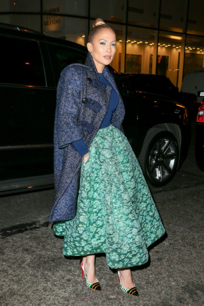 Jennifer Lopez le 21 janvier 2015