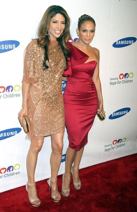 Jennifer Lopez et sa soeur Lynda !