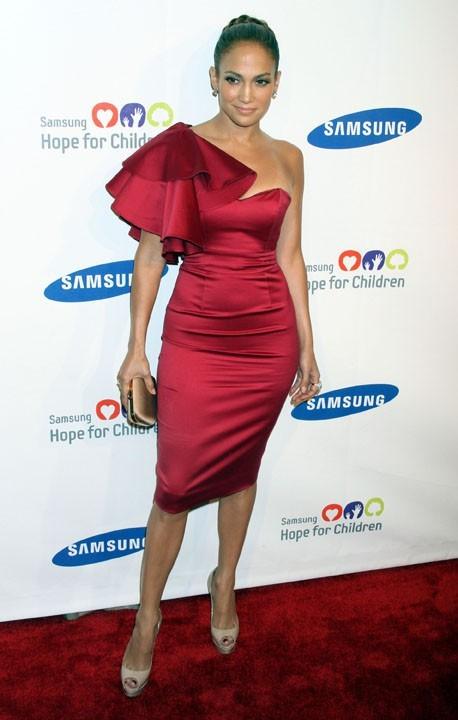 Jennifer Lopez lors du gala Hope for Children à New York, le 7 juin 2011.