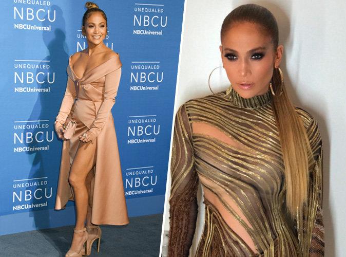 Jennifer Lopez : laquelle de ses deux robes du soir a préféré Alex Rodriguez ?
