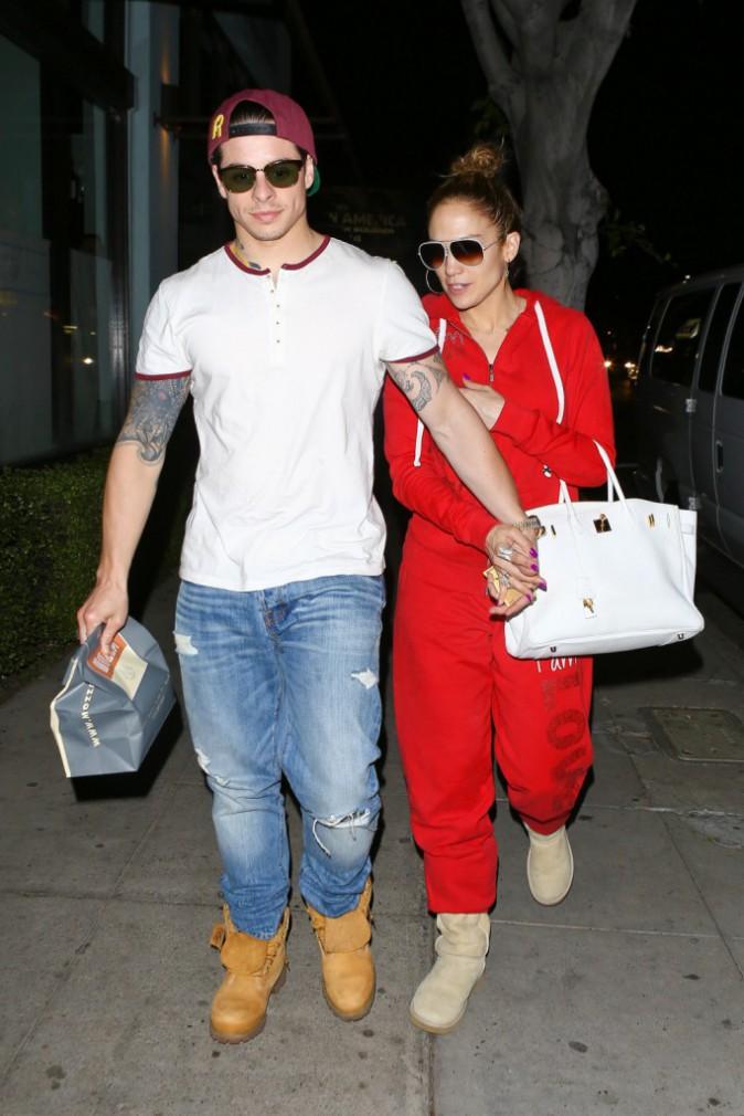 Jennifer Lopez et Casper Smart à Los Angeles, le 18 mars 2014.
