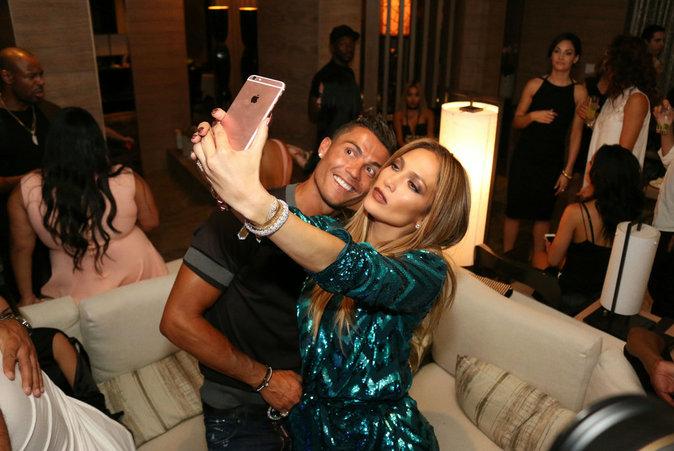 J Lo a posé avec Cristiano Ronaldo