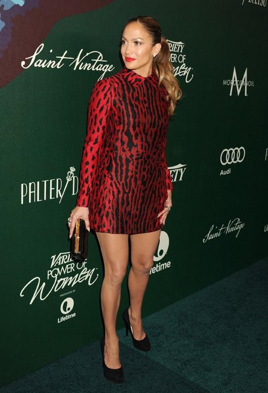 Jennifer Lopez à Los Angeles le 10 octobre 2014