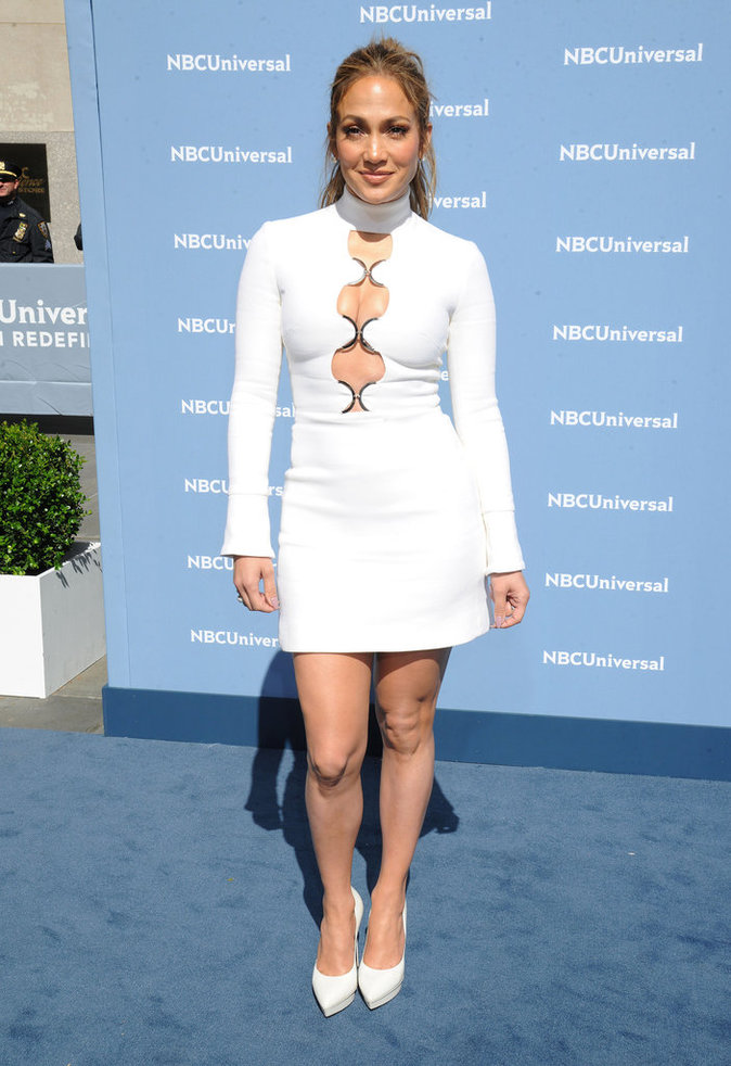 Jennifer Lopez assiste à l'événement NBC Universal Upfronts 2016