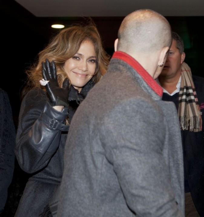 Jennifer Lopez et Casper Smart, Copenhague, 3 novembre 2012.