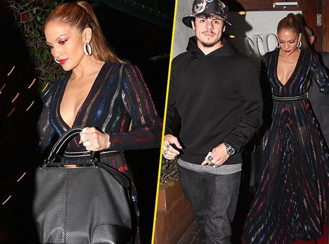 Jennifer Lopez toujours aussi hot alors que Casper se n�glige...