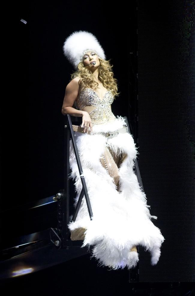 Jennifer Lopez en concert le 20 juillet 2012 à Newark
