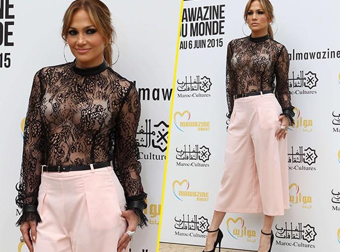 Jennifer Lopez : transparente et sexy pour ses fans marocains !