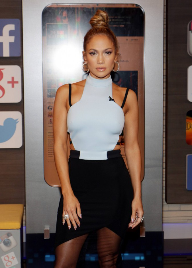 Jennifer Lopez le 13 janvier 2015