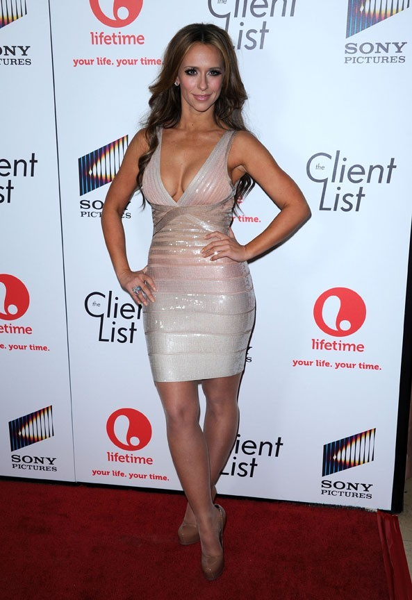 Jennifer Love Hewitt le 4 avril 2012 à West Hollywood