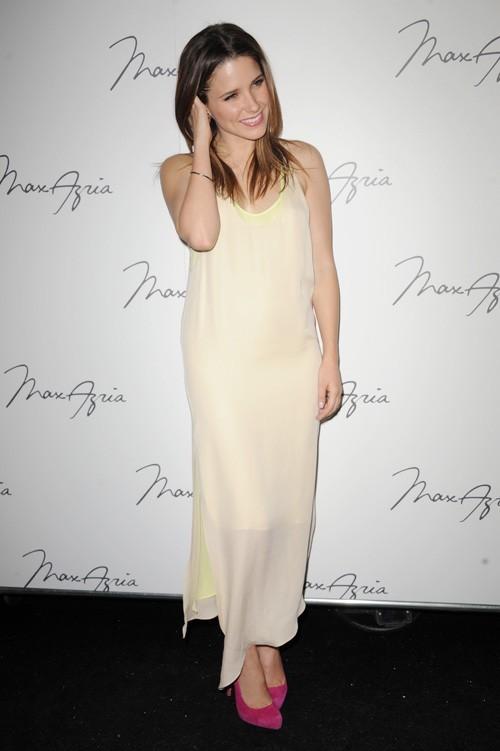 Sophia Bush au défilé Max Azria, le 13 février 2011 à New York